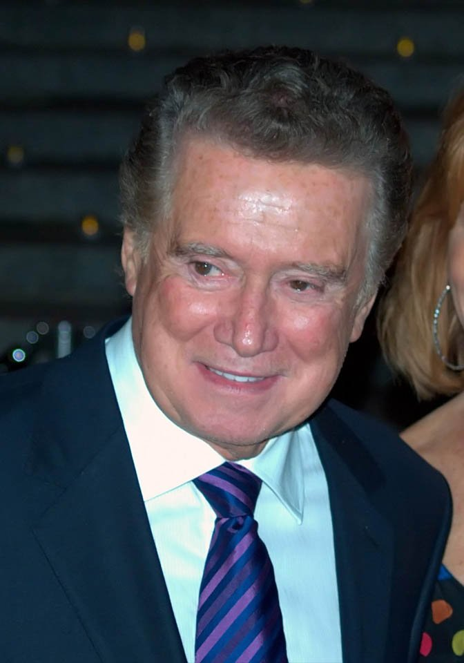 Regis Philbin will host a daily talk sports-themed talk show on the new Fox Sports 1. (Source: MGN Online)