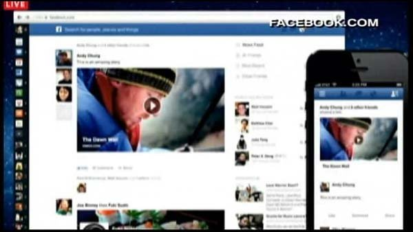 Facebook unveils revamped news feed