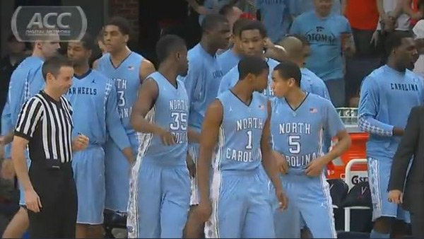 UNC might be preparing to surge through the conference tournament as they face old foe Duke on Saturday.  (Source: ACC Digital Network)