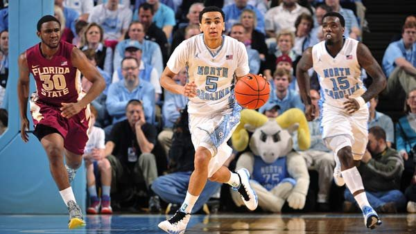 Marcus Paige (5), P.J. Hairston (15) and the rest of the North Carolina Tar Heels face their rival Duke Blue Devils on Saturday. (Source: UNC Athletic Communications)