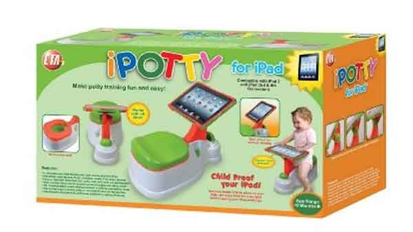 The iPotty is for sale on Amazon for $39.99. (Source: Amazon.com)