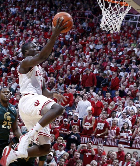 Oladipo led Indiana its first outright Big Ten regular-season title since 1993. (Source: IU Athletics)
