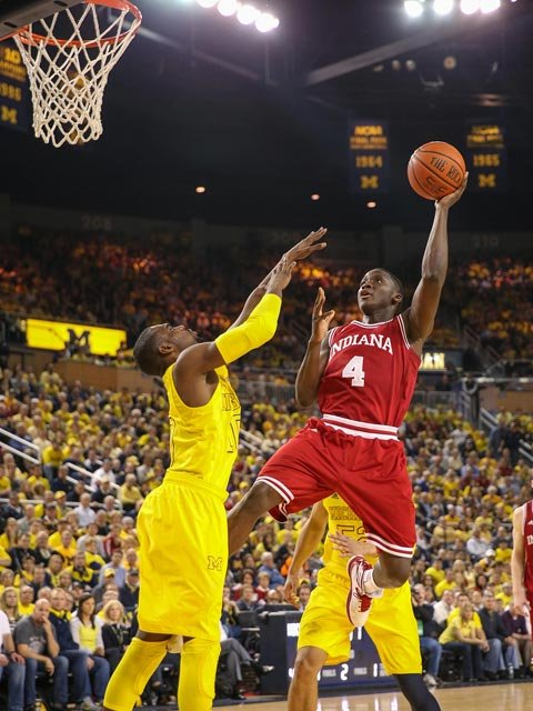 Oladipo's accolades include the 'Sporting News' national player of the year and Big Ten Defensive Player of the Year.(Source: IU Athletics)