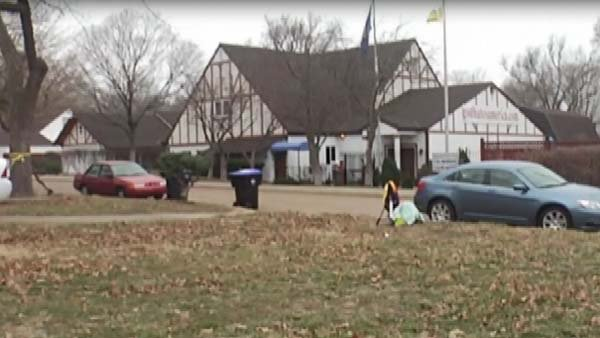 The rainbow house is located across the street from the Westboro Baptist Church. (Source: CNN/KTKA)
