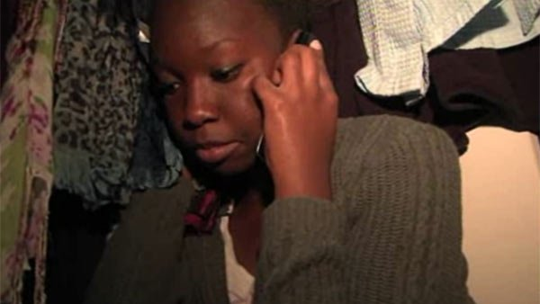 A teen girl hides in a closet during a home invasion while on the phone with dispatchers. (Source: KGTV/CNN)