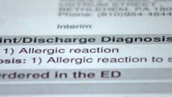 Parents claim teen is allergic to popular body spray Axe. (Source: WFMZ/CNN)