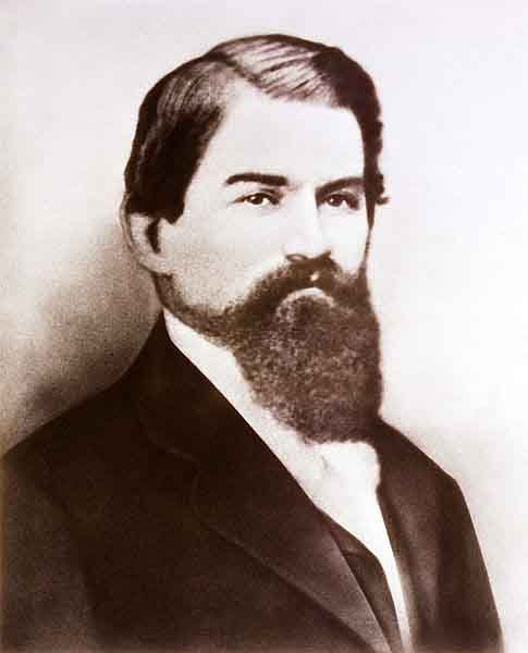 John Pemberton first brewed Coca-Cola on March 29, 1886. (Source: Wikimedia Commons)