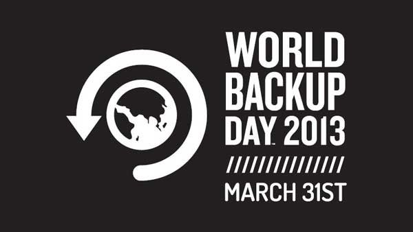 World Backup Day takes place on March 31 every year. Users can take pledges promising they'll backup their data. (Source: worldbackupday.com)