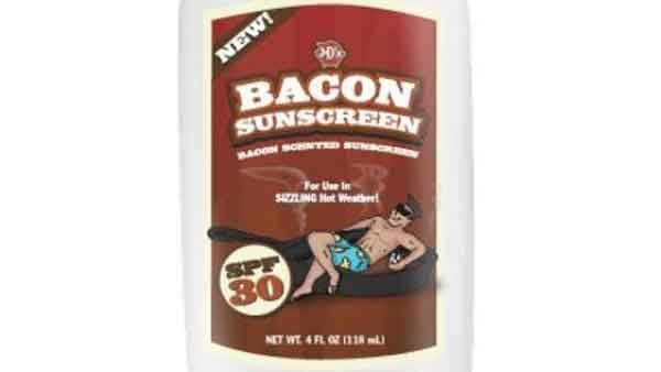 J&D's Foods announced it is releasing Bacon Sunscreen - available for pre-order. (Source: Facebook)