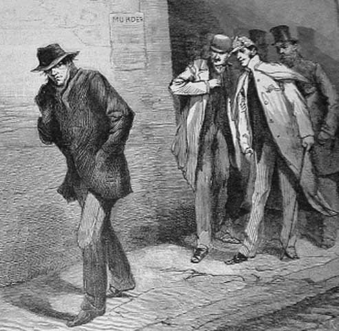 "This illustrated appeared in the Illustrated London News representing ""A Suspicious Character"" representing the suspect in the murders attributed to Jack the Ripper. (Source: Wikimedia Commons)"