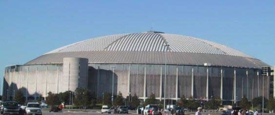 The Astrodome first opened April 9, 1965. (Source: Wikimedia Commons)
