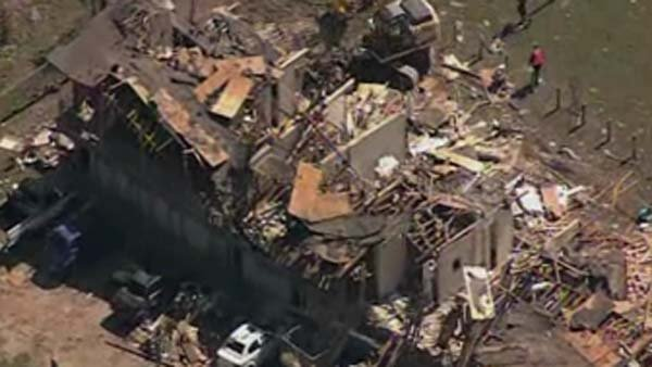 Aerial video shows the scope of the destruction from the TX fertilizer plant explosion. (Source: CNN)