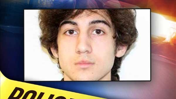 Boston Marathon bombing suspect Dzhokhar Tsarnaev. (Source: MGN Online)