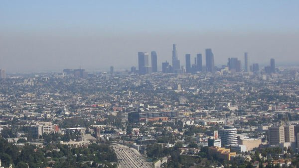 Los Angeles is well-known for its smog problem, but much smaller municipalities have their share of bad air. (Source: Wikicommons)