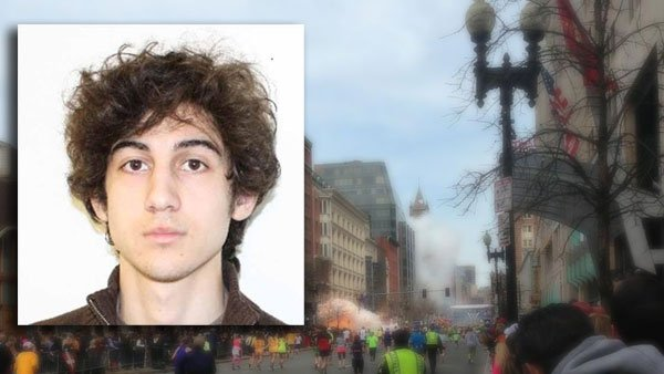 Dzhokhar Tsarnaev, 19, is the surviving suspect in the Boston Marathon bombing April 15. (Source: CNN/Dan Lampariello/Twitter)