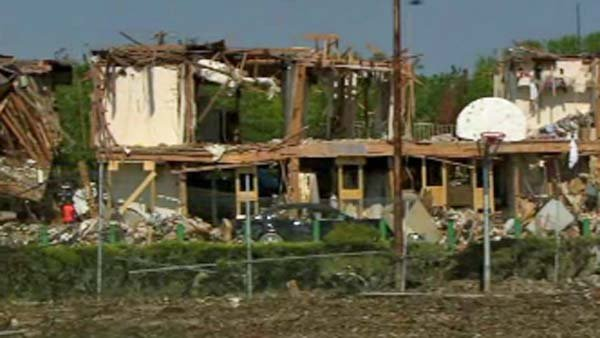 West, TX leaders have warned of slow recovery from plant blast that damaged dozens of homes. (Source: CNN)