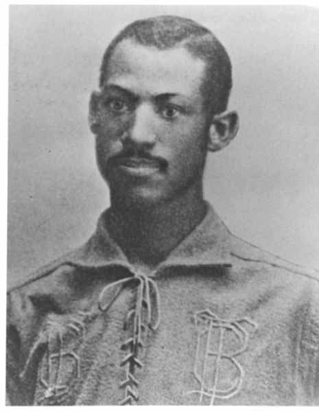 Moses Fleetwood Walker was the first black player in Major League Baseball in 1884. (Source: Wikimedia Commons)