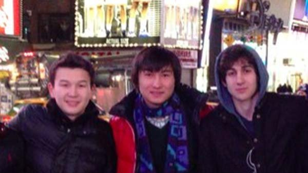 Three additional suspects have been taken into custody by the FBI related to the Boston Marathon Bombing (Left: Azamat, Center: Dias, Right: Dzhokhar). (Source: VK)