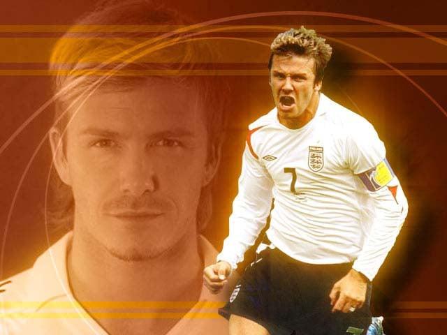 David Beckham is retiring from soccer.