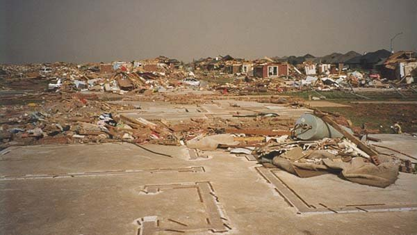 An F5 tornado ripped through Oklahoma in 1999. (Source: National Weather Service)