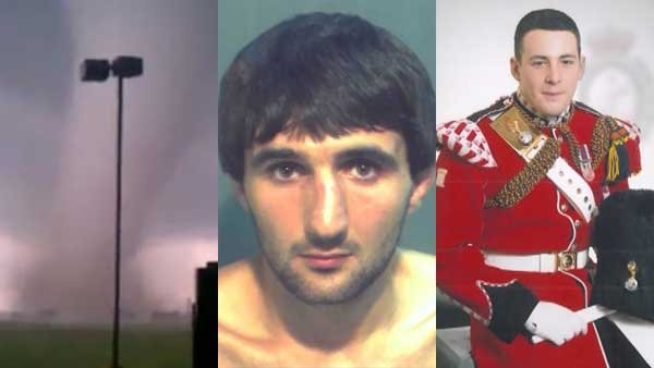 A deadly EF-5 tornado, a murder suspect with links to the Boston bombing suspects and a British soldier brutally killed by alleged terrorists dominated headlines this week.