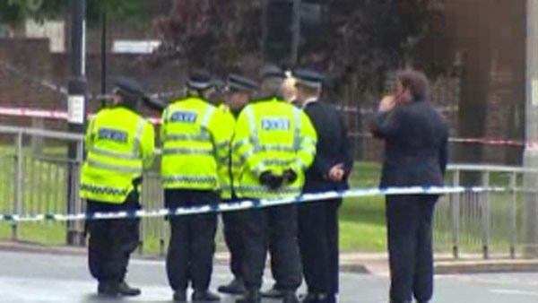On Wednesday, two men killed an off-duty British soldier with a cleaver. (Source: CNN)