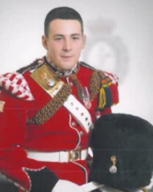 Lee Rigby, 25, was a husband and father of a 2-year-old. (Source: UK Ministry of Defence/CNN)
