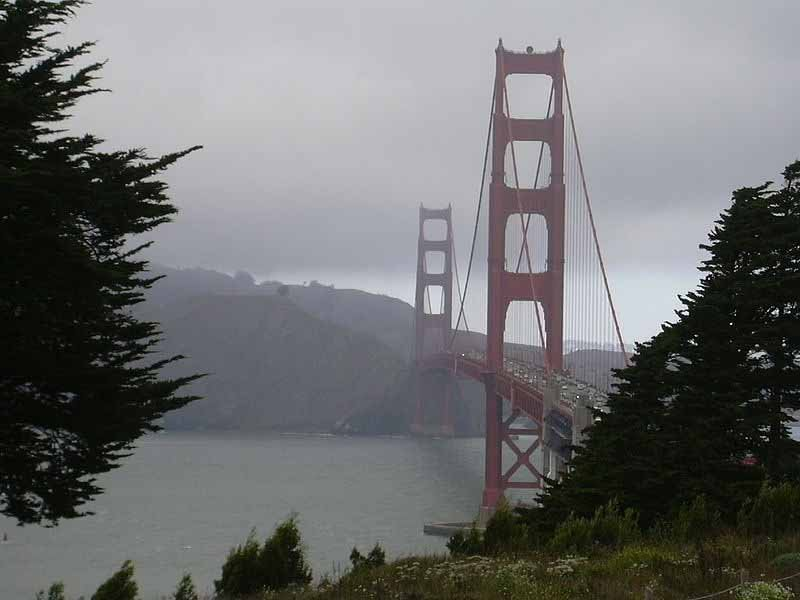 The Golden Gate Bridge in San Francisco opened May 27, 1937. (Source: Wikimedia Commons)