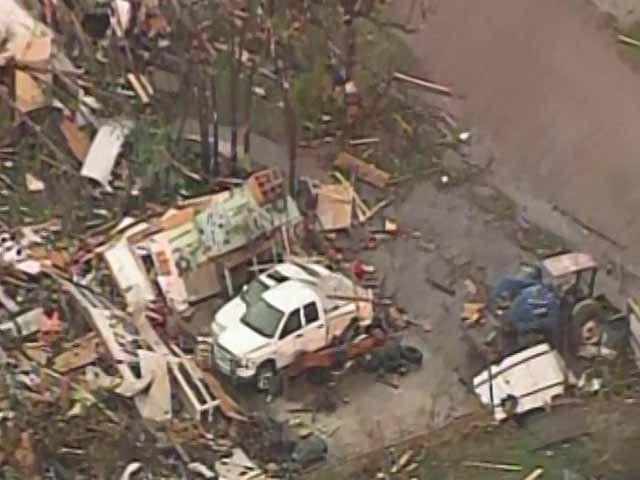 Rebuilding after a natural disaster hits has been known to make economy better than before. (Source: KFOR/CNN)