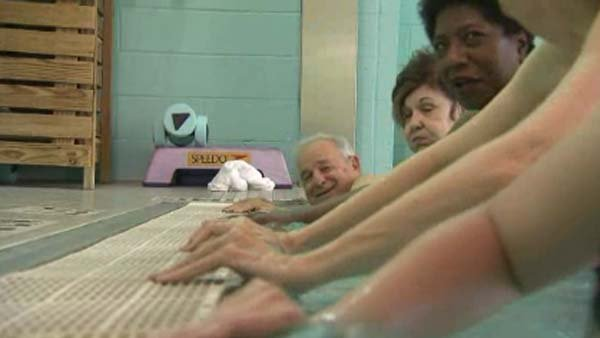 Warm water exercise is helping arthritis patients to have less pain and more movement. (Source: CNN)