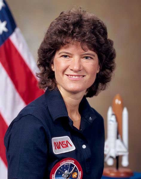 Sally Ride was the first American woman in space June 18, 1983. (Source: NASA/Wikimedia Commons)