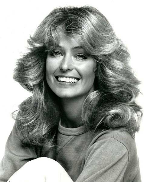 Actress Farrah Fawcett is shown in a promotional photo for Charlie's Angels. Fawcett died June 25, 2009. (Source: ABC Television/Wikimedia Commons)