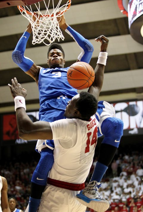 Nerlens Noel is projected as one of the top-2 picks in the 2013 NBA Draft. (Source: UK Athletics/Chet White)