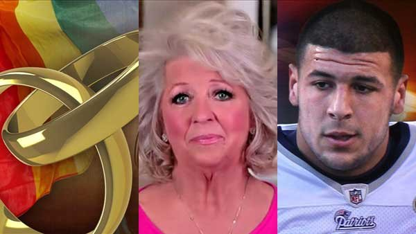 The DOMA decision, the fallout over Paula Deen using a racial slur and the arrest of a football star made headlines this week.