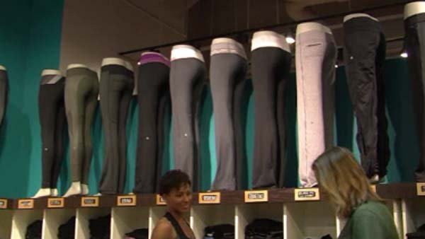 Lululemon sued for see-through yoga pants. (Source: CNN)