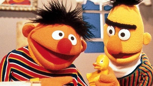 Bert and Ernie from Sesame Street continue to be popular, with their controversial character traits.(Source: Courtesy Wiki Commons)