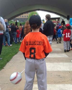 The Black Keys sponsored a Little League team in their hometown of Akron, OH. (Source: West Akron Baseball and Softball League)