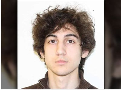 Boston Marathon bombing suspect Dzhokhar Tsarnaev.