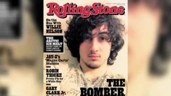 A Massachusetts State Police photographer leaked photos from the night Boston Marathon bombing suspect Dzhokhar Tsarnaev was captured after 'Rolling Stone' put Tsarnaev on the cover of the August issue. (Source: CNN)