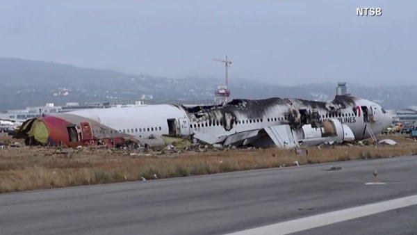Asiana crash victim killed by fire truck. (Source: NTSB/CNN)