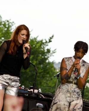 Following their hit new single 'I Love It', Swedish duo Icona Pop will release their debut album 'This Is... Icona Pop' in September. (Source: Flickr/Tim Evanson)