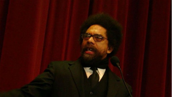 Dr. Cornel West, a professor at Union Theological Seminary, has been critical of President Obama for not doing enough about racial injustice in the U.S. (Source: Esther/Wikimedia)