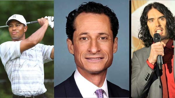 This trio, among other notable men, have been caught with their pants down and later claimed sex addiction. (Source: MGN Online)