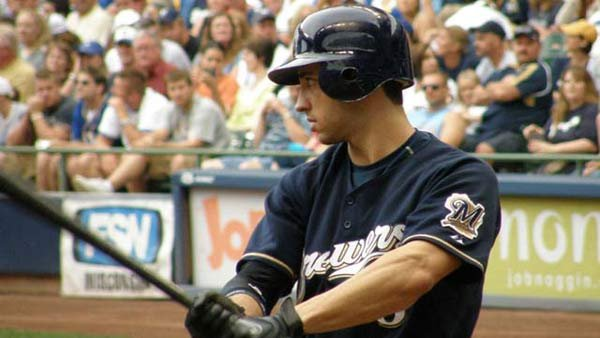 Milwaukee Brewers outfielder and former NL MVP Ryan Braun was suspended Monday for the rest of 2013. (Source: Steve Paluch/MGN Online)
