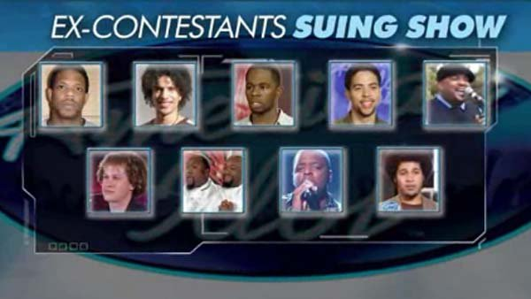 Former American Idol contestants' lawsuit accuses show of racism. (Source: CNN)