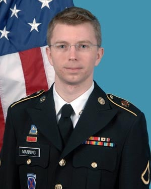 Bradley Manning. (Source: U.S. Army)