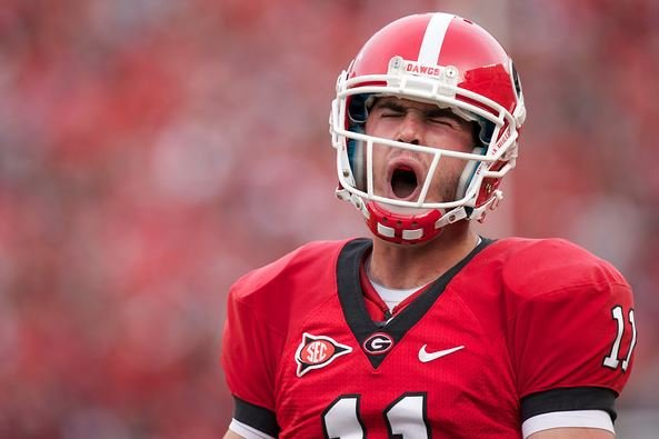 Aaron Murray will lead Georgia into Death Valley against Clemson in a terrific ACC-SEC clash on Aug. 31 (Source: UGA Athletics)