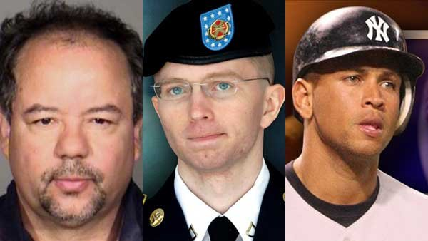 The sentencing of Ariel Castro, the verdict in the Bradley Manning case and new accusations of
