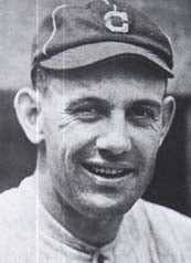 Ray Chapman, pictured here, was killed after being hit in the head by a pitch on Aug. 16, 1920. (Source: Wikimedia Commons)