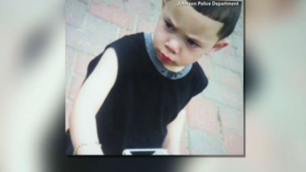 Two-year-old Isaiah Perez was found safe and apparently unharmed. (Source: Johnston Police Department/WPRI/CNN)
